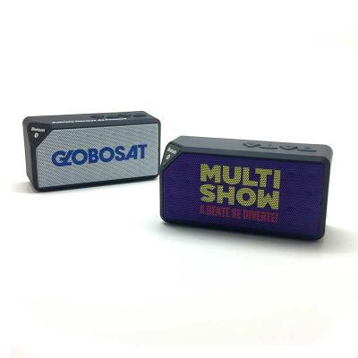Promofy Brindes Corporativos Personalizados - Caixa de Som Bluetooth personalizada