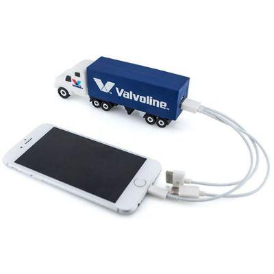 Promofy Brindes Corporativos Personalizados - Carregador portátil 3D.