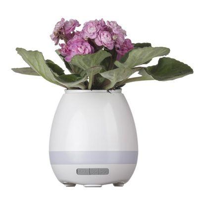 Brindes de Luxo - Caixa de Som Vaso com Sensor e Bluetooth