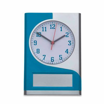 Brindes de Luxo - Relógio de parede plástico com detalhe colorido, funcionamento através de uma pilha AA(não acompanha) e ajuste manual através da engrenagem no verso d...