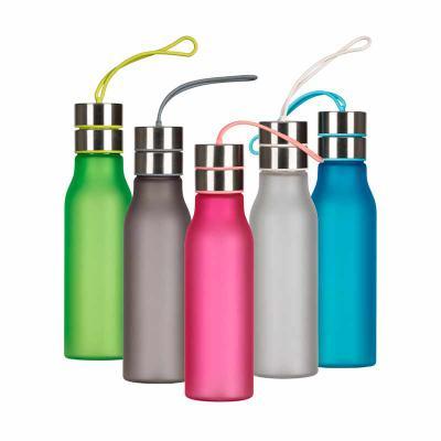Brindes de Luxo - Squeeze Plástico Fosco 600ml