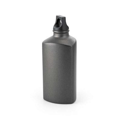 Brindes de Luxo - Squeeze de alumínio com tampa em PP. Capacidade: 600 ml. Food grade. Caixa branca vendida separadamente. Tamanho: Ø75 x 158 mm. Personalização a laser...