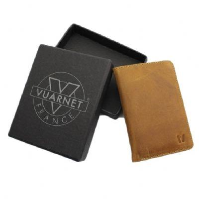 Brindes de Luxo - Carteira/ Porta-cartões de couro Vuarnet