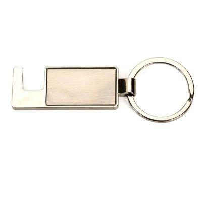 brindes-de-luxo - Chaveiro metal e porta celular personalizado