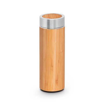 Brindes de Luxo - Garrafa Térmica de Bambu