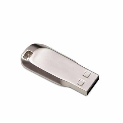 Brindes de Luxo - Pen drive metálico fosco, possui área para inserção de cordão(não acompanha). Capacidades de 4GB e 8GB. Personalização a laser. Altura :  4,1 cm Largu...