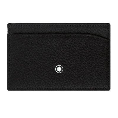 Brindes de Luxo - Porta-cartões de bolso de couro Montblanc
