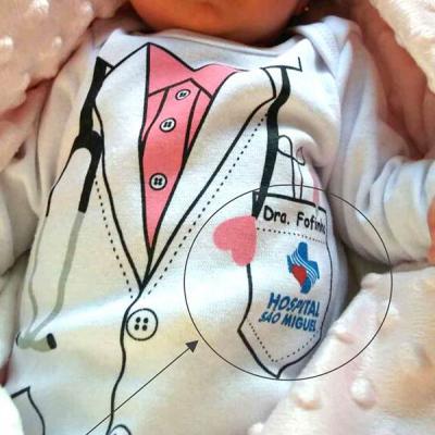 Equilíbrios Camisetas Promocionais - Body bebê Ribana