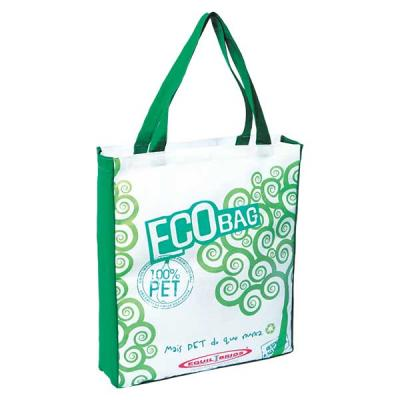 Equilíbrios Camisetas Promocionais - Sacola ecológica 100% feita da reciclagem da garrafa pet