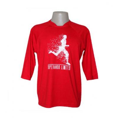 Equilíbrios Camisetas Promocionais - Camiseta com manga 3/4 ecológica.