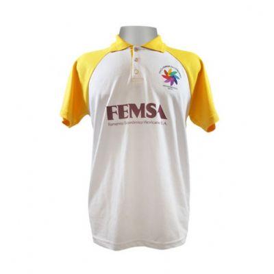 Equilíbrios Camisetas Promocionais - Camisa pólo feita de PET.