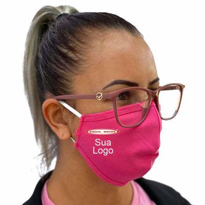 Equilíbrios Camisetas Promocionais - Máscara para proteção em malha dupla