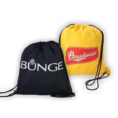 Equilíbrios Camisetas Promocionais - Sacochila com alta durabilidade