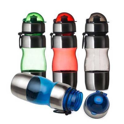 Brinderia Brindes - Squeeze Inox com Plástico 450ml