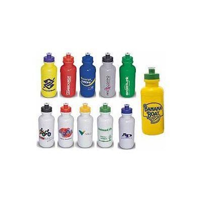 Brinderia Brindes - Squeeze plástico personalizado com capacidade para 500 ml.