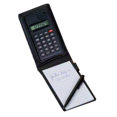 MR Cooler - Bloco de Anotação com Calculadora