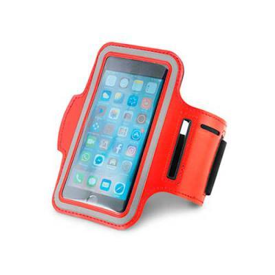 MR Cooler - Braçadeira para celular. Material Soft shell de alta densidade. Com elementos refletivos e fecho ajustável. Para smartphone 5''. 430 x 150 mm