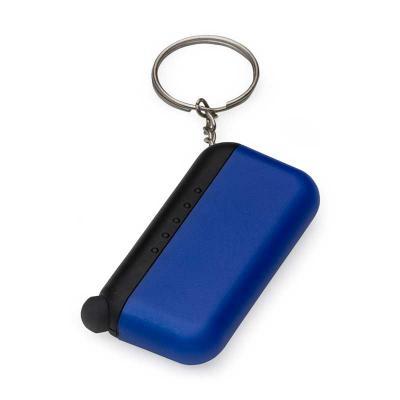 MR Cooler - Chaveiro plástico limpador de tela e com ponta touch.  Possui cinco bolinhas na parte preta em cada verso, para utilizar o limpador basta tirar a tamp...
