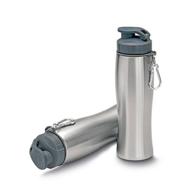 MR Cooler - Garrafa de aço inox 750 ml com mosquetão.