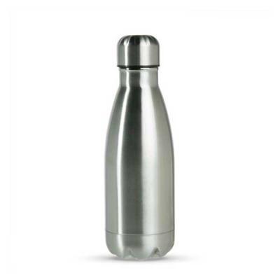 MR Cooler - Garrafa térmica promocional com capacidade para 350 ml em inox de alta qualidade. Possui tampa, pode ser utilizada com líquidos quentes ou frios. Obse...