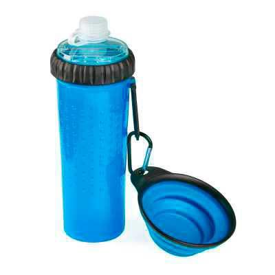 MR Cooler - Kit para cachorro personalizado 3 x 1, dispenser, porta agua e porta ração