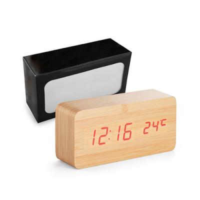 MR Cooler - Relógio de Madeira