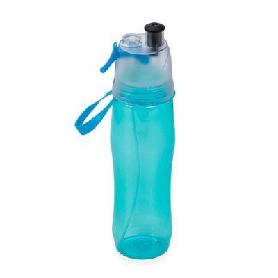 MR Cooler - Squeeze plástico 700ml brilhante com borrifador.  Possui tampa plástica resistente(transparente), para uso basta levantar o bico e utilização do borri...