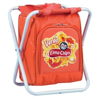 MR Cooler - Banqueta com bolsa térmica personalizada.