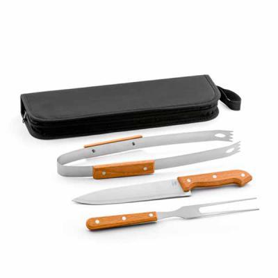 MR Cooler - Kit Churrasco Personalizado 3 Peças com Estojo