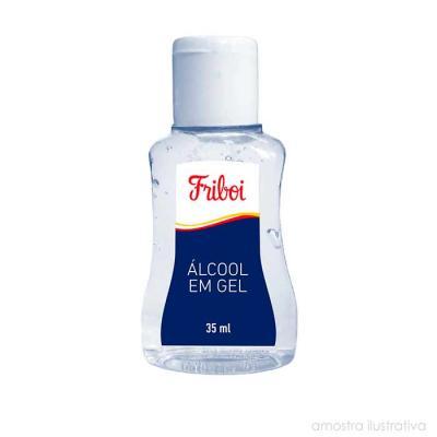 New Life Brindes e Confecções - Gel antisséptico em frascos de 35 ml com tampa Flip Top personalizado com o logo da sua empresa ou evento. Higiene e hidratação na palma das mãos, um...