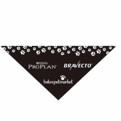 New Life Brindes e Confecções - Bandanas triangular em tecido poliester ou 1/2 malha ambas com aplicação de logo em silk - screnn