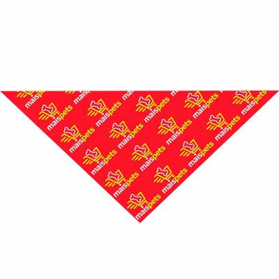New Life Brindes e Confecções - Bandana triangular em tecido poliester ou 1/2 malha ambas com aplicação de logo em silk - screen