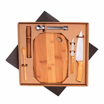 Promozionale Brindes - Kit bar em bambu personalizado