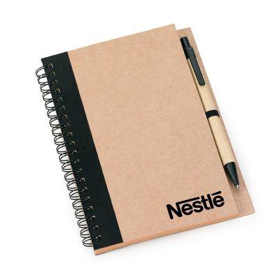 Promozionale Brindes - Caderno de anotações preto