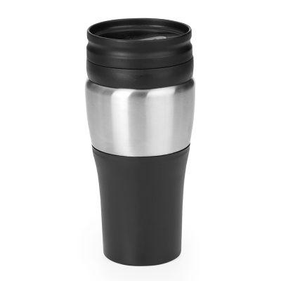 Promozionale Brindes - Copo térmico revestido em aço inox 400 ml