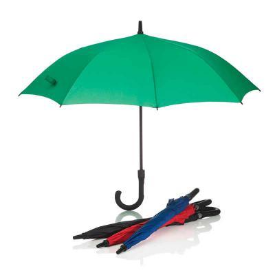 Promozionale Brindes - Guarda-chuva em poliéster com haste em metal, cabo emborrachado e abertura automática. medidas: ø1130x84mm. Disponível nas cores preto, azul, vermelho...