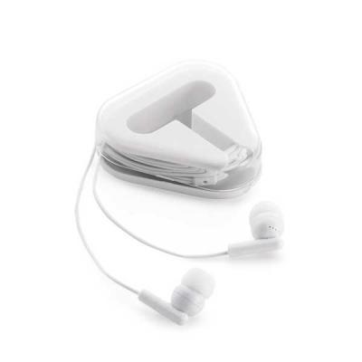 Vintore Brindes Especiais - Fone de ouvido 60 x 64 x 16 mm com cabo de 1,25 m, ligação stereo 3,5 mm, fornecido em caixa de ABS