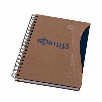 Vintore Brindes Especiais - Caderno grande capa cartão