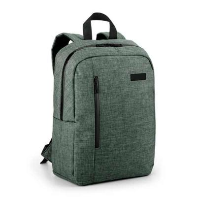 Vintore Brindes Especiais - Mochila para notebook. 600D de alta densidade. Compartimento forrado, com 2 divisórias almofadadas para notebook até 14'' e tablet 9.7''. Bolso fronta...