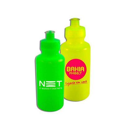 Brintec Brindes Promocionais - Squeeze de PE resistente e flexível, tampa rosqueável em PP, e bico em PVC cristal. ótimo acabamento e vedação. capacidade 550ml