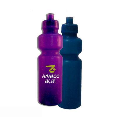 Brintec Brindes Promocionais - Glitter Metalizada Neon Standart Squeeze em PE resistente e flexível, tampa rosqueável  e bico em PVC, capacidade de 750 ml.