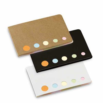 Brintec Brindes Promocionais - Caderno. Cartão. 5 conjuntos: 25 folhas cada.