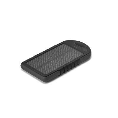 Brintec Brindes Promocionais - Bateria solar portátil personalizada.