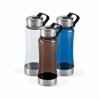Brintec Brindes Promocionais - Squeeze de aço inox e plástico 600 ml
