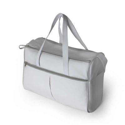 Brintec Brindes Promocionais - Bolsa térmica em sintético emborrachado, com bolsos laterais, bolso frontal, com trocador de bebe acabamento vivo.