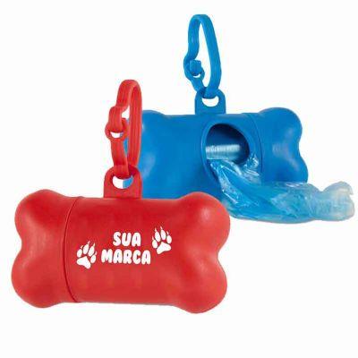 Brintec Brindes Promocionais - Kit de higiene para cachorro.  Contém 20 sacolas de plástico.