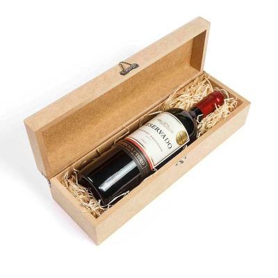 Amélio Presentes - Kit vinho na caixa de madeira