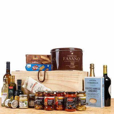 Amélio Presentes - Kit Gourmet Italiano completo