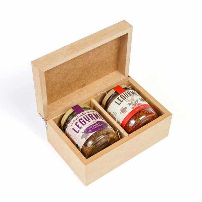 Amélio Presentes - Aperitivo Gourmet com caixa de madeira