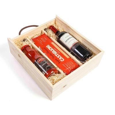 Amélio Presentes - Kit Gourmet com massa especial italiana, molho vermelho e vinho tinto